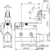 Габаритные размеры MTB4-MS7127