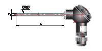Преобразователь термоэлектрический с коммутационной головкой на основе КТМС модель 275