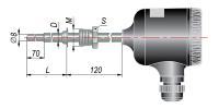 ДТС055 термосопротивления с выходным сигналом 4…20 мА