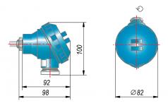 Конструктивное исполнение металлической головки под НПТ-3