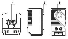 Устройство термостата для электротехнических шкафов МТК-СТ0/МТК-СТ1