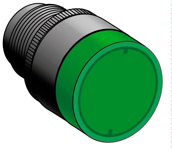 Головки кнопок с подсветкой