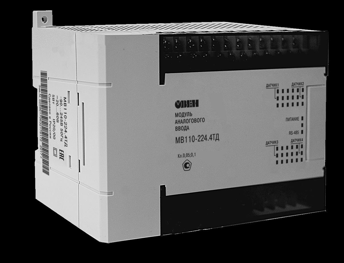 Модуль ввода сигналов тензодатчиков МВ110-224.4ТД