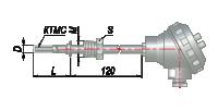 Термопары на основе КТМС модель 045