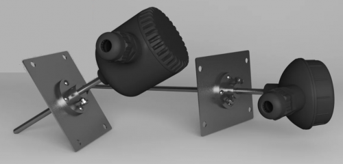 В ближайшее время планируется выпуск в исполнении c RS-485