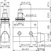 Габаритные размеры MTB4-MS7102