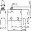 Габаритные размеры MTB4-MS7103