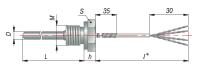КДТС054 с кабельным выводом