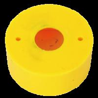 Защитный кожух-рамка, желтый, 60 мм