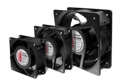 Квадратные вентиляторы с пластиковой крыльчаткой