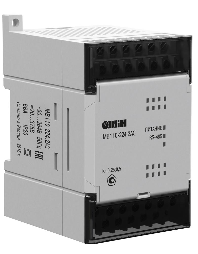 Модуль скоростного ввода аналоговых сигналов МВ110-2АС